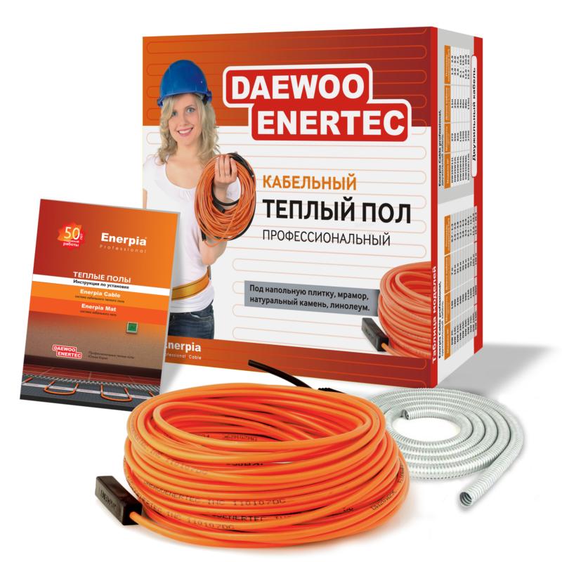 Двужильный кабельный теплый пол DAEWOO ENERTEC